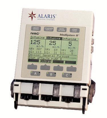 Alaris MedSystem III IV Infusion Pump
