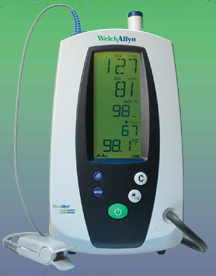 Welch Allyn Spot Vital Signs Monitor with NIBP; Pulse Rate & MAP.