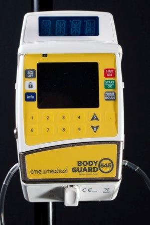 Braun CME BodyGuard 545 Epidural Ambulatory Infusion Pump