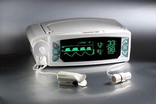 Capnocheck® Plus Sleep Carbon Dioxide Detector