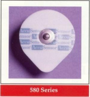 AccuSensor Foam silver/silver chloride diagnostic electrode