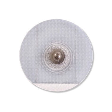 Round Clear Tape Solid Gel Adult Monitoring Electrode / Stress / Holter