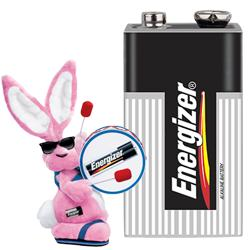 Energizer 9 Volt Batteries, 12 Pack