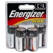 "Energizer ""C"" Batteries, 12 Pack"