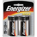 "Energizer ""D"" Batteries, 12 Pack"