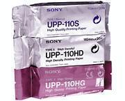 Sony UPP-110HG Thermal; Black & White Paper Rolls