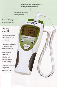 Welch Allyn SureTemp Plus Thermometer