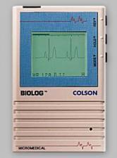 QRS Biolog 3000 Portable ECG / EKG Machine