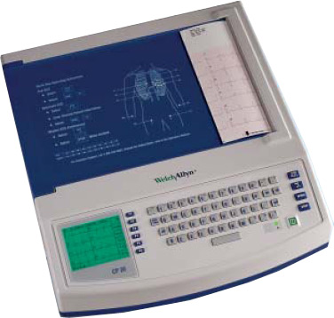 Welch Allyn CP-20 ECG / EKG Machine