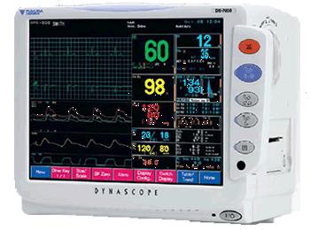 Fukuda Denshi Dynascope 7000 Patient Monitor System