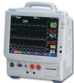 Fukuda Denshi Dynascope 7200 Bedside Monitor