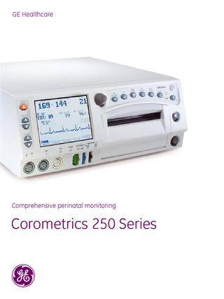 GE Corometrics 250cx Series Maternal-Fetal Monitor