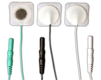 Lead-Lok P4 Pediatric ECG Electrodes