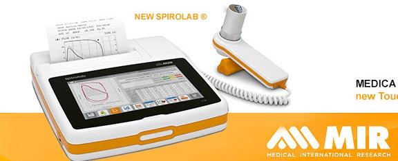 MIR Spirolab Desktop Spirometer