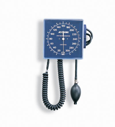 Medline Aneroid Wall Mount Blood Pressure Monitor (Latex-Free)