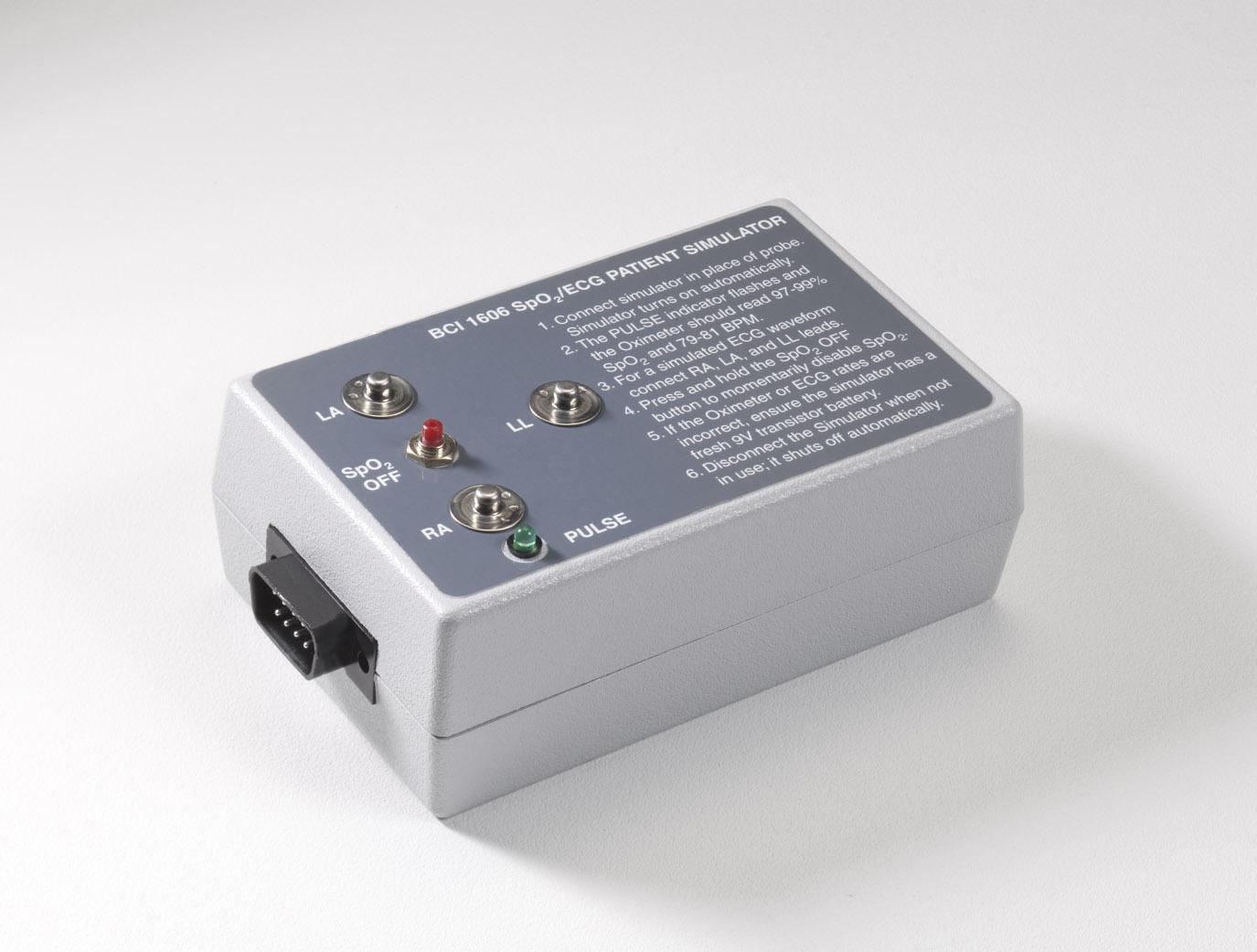 Oximeter/ECG Simulator