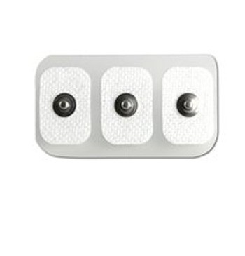 Philips 13951C  rectangular Neonatal/Pediatric solid gel snap electrode 300/cs