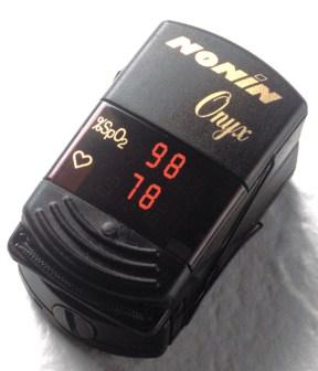 Nonin 9500 Finger Pulse Oximeter