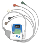 QRS Q200/HE Holter Recorder 5 Lead Kit