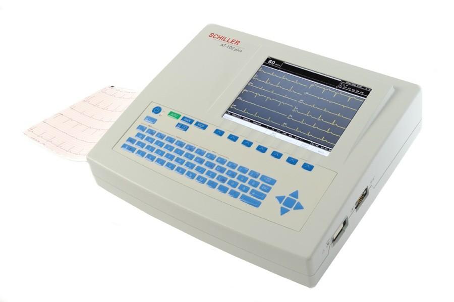 SCHILLER AT-102 PLUS EKG MACHINE