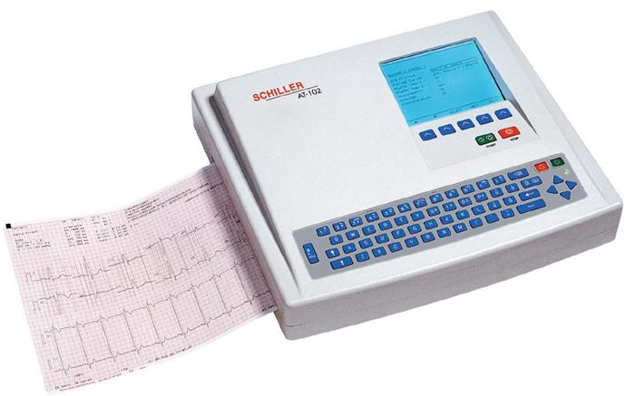 Schiller AT-102 EKG Machine