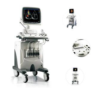 SonoScape SSI-8000 Color Doppler Trolley Ultrasound System