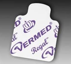 Vermed A10023 Regal Silver Premium Adhesice Solid Gel Resting Tab