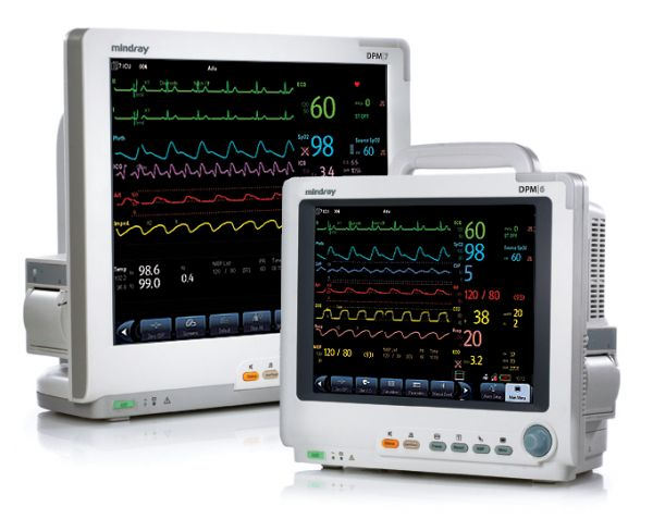 Mindray Patient Monitor DPM 6 and DPM 7