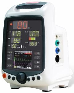 MDPro Edge Patient/Vital Signs Monitor (NIBP + SpO2 + Temp + ECG)