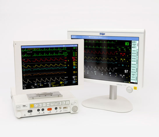 Drager Infinity® Omega-S Solution Patient Monitor