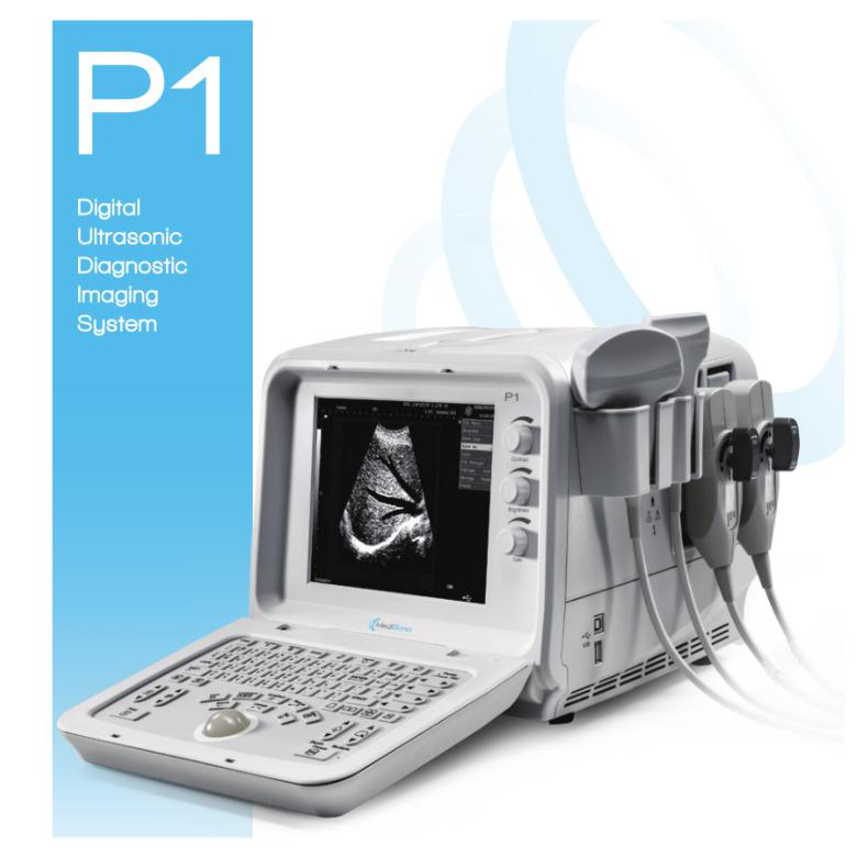 MediSono P1 Digital Ultrasonic Diagnostic Imaging System