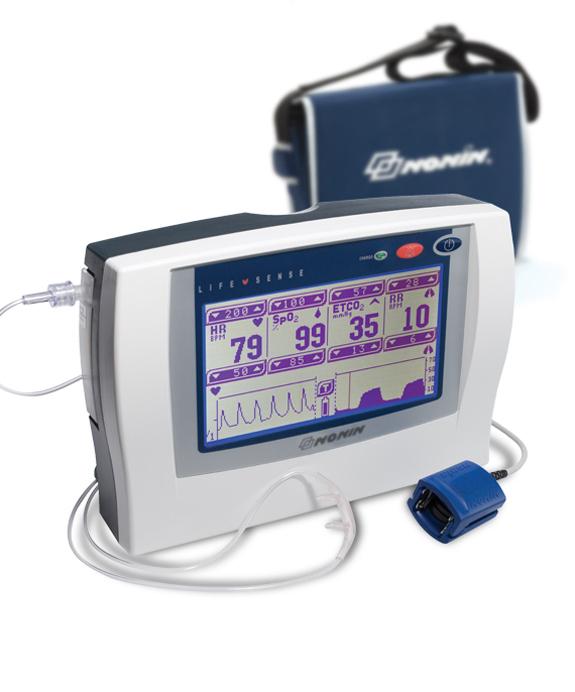 Nonin Lifesense Capnograph-Pulse Oximeter