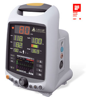 IRIS Vital Signs Monitor NIBP + SpO2 + Temp + ECG
