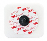 3M Red Dot Monitoring Electrode with Foam Tape and Sticky Gel 2570-3