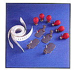 Burdick 107068 3mm Reusable Adult Electrode Kit