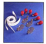 Burdick 107546 4mm Reusable Adult Electrode Kit