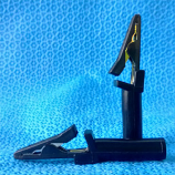 GE CAM 14/AM4/AM5 Electrode Alligator Clip Connector (10 pcs)