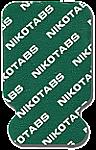 Nikomed 0315 Nikotab ECG Electrodes 21 x 34mm