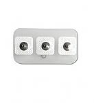 Philips 13955C Neonatal/Pediatric solid gel snap electrode 300/cs