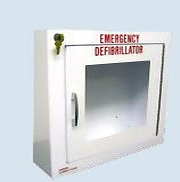 AED Wall Cabinet w/Alarm