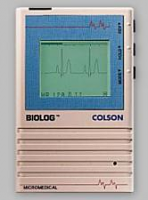 QRS Biolog 3000 Portable ECG / EKG Machine