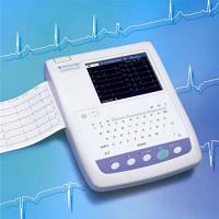 Nihon Kohden 1250A ECG / EKG Machine