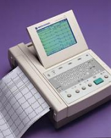 Nihon Kohden Cardiofax Q 9130K Demo Interpretive ECG Machine