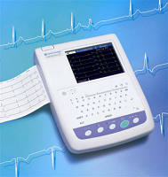 Nihon Kohden 1250A Refurbished ECG / EKG Machine