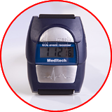 Meditech Merlin One-channel ECG Event Monitor built in Wristwatch