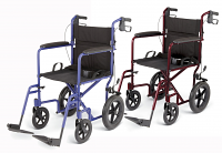 "MEDLINE Aluminum Transport Wheelchairs with 12"" Wheels"