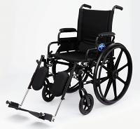 MEDLINE K4 Extra-Wide Lightweight Wheelchairs