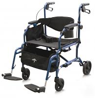 MEDLINE Combination Rollator Transport Chair
