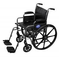 MEDLINE Excel K2 Basic Wheelchairs