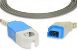 Nihon Kohden® JL-900P Compatible SpO2 Adapter Cable